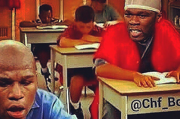 50 Cent ridicules Floyd Mayweather for Being Illiterate Instagram