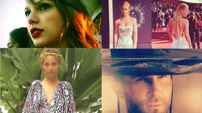 Beyonce, Taylor Swift, Iggy Azalea, Maroon 5, 2014 VMAs Live Video Performances