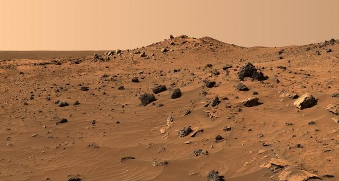 Human Thigh Bone Found on Mars?