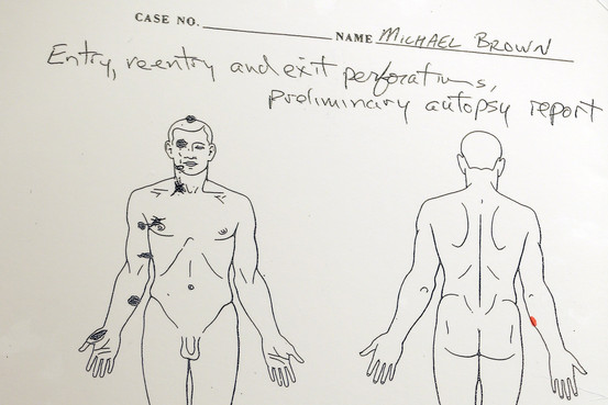Mike Brown Autopsy
