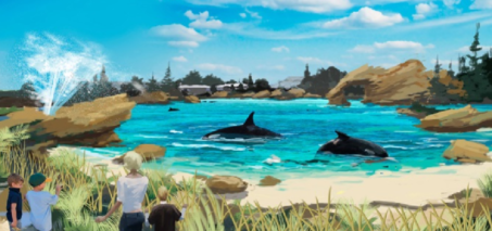 New Habitat for SeaWorld Killer Whales after Blackfish Backlash