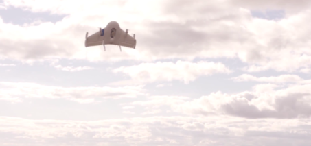 Project Wing by Google – Drone Demo Delivering Dog Food VIDEO
