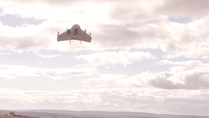 Project Wing by Google - Drone Demo Delivering Dog Food