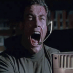 Jean Claude Van Damme Playing Counter Strike GIF