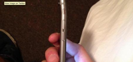 Bent iPhone 6, Aluminum Frame Bending at the Top