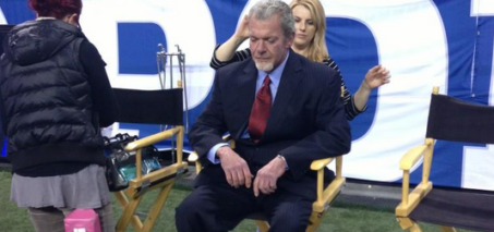 Colts Owner Jim Irsay DUI $500,000 fine + 6 Game Suspension