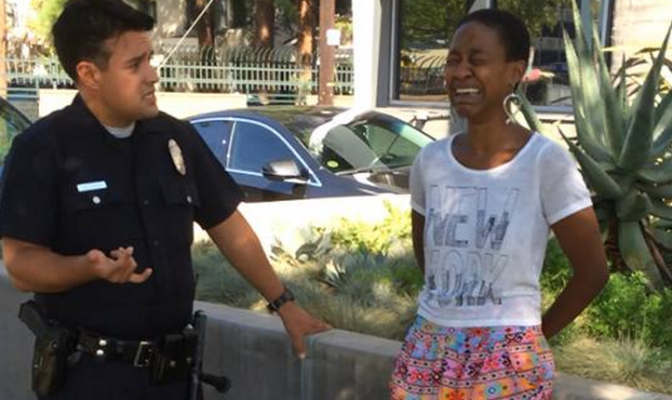 Daniele Watts Detained, Cops Accuse her of Prostitution