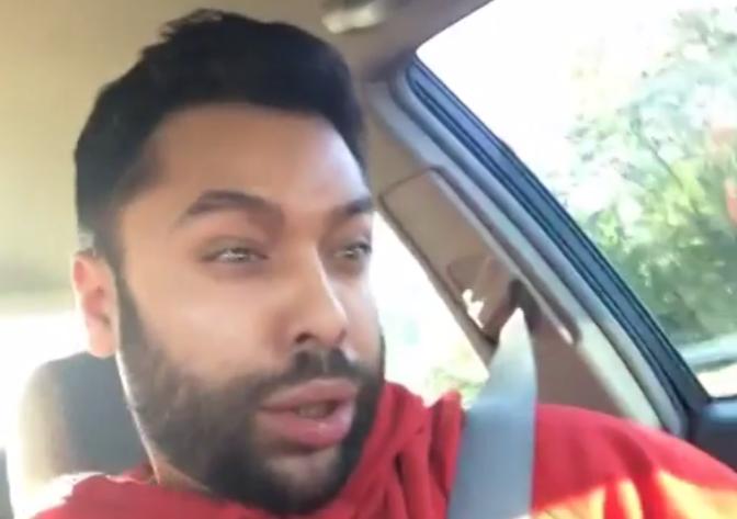 Guy's Face is Stuck Like Drake Vine Video