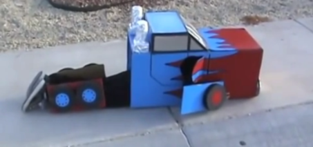 Low Budget Transformer Video – Kid Transforming in his Suit