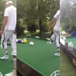 Billiards for Giants GIF – Soccer Balls on a Giant Pool Table