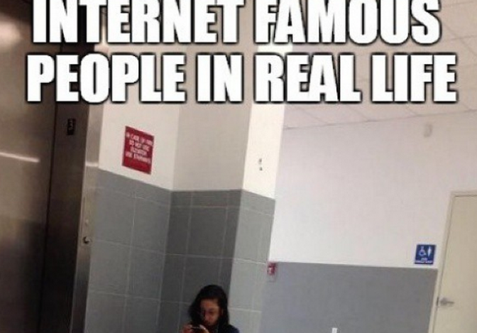 internet memes in real life and Internet memes in real-life \_( )_.