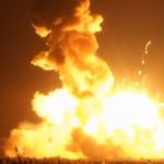 NASA Antares rocket explodes during launch VIDEO