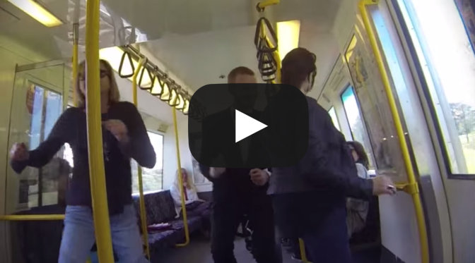 Perth Train Party Video 2014