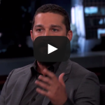 Shia LaBeouf on His Arrest – Jimmy Kimmel Live VIDEO
