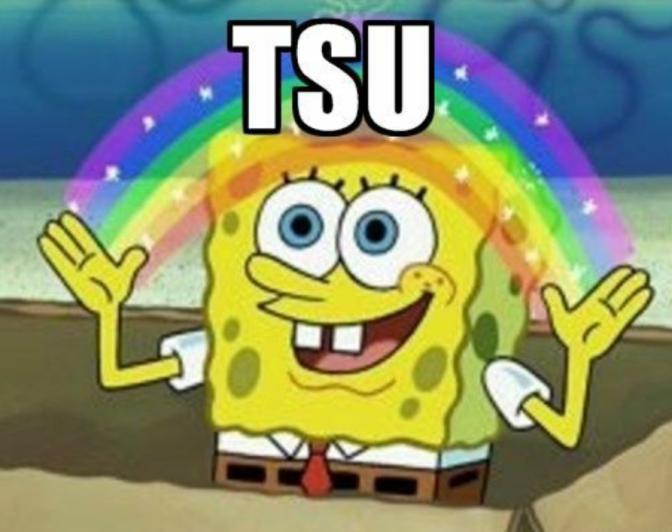 TSU spongebob imagination meme