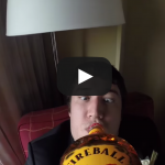 Wedding Fireball Cam: Gopro on bottle of Fireball Whiskey
