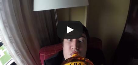 Wedding Fireball Cam: Gopro on bottle of Fireball Whiskey