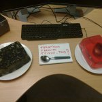 Welcome Back to Work Tom! Mouse and Keyboard in Jello