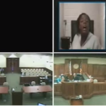 Woman argues with judge, ends up with 300 days in jail