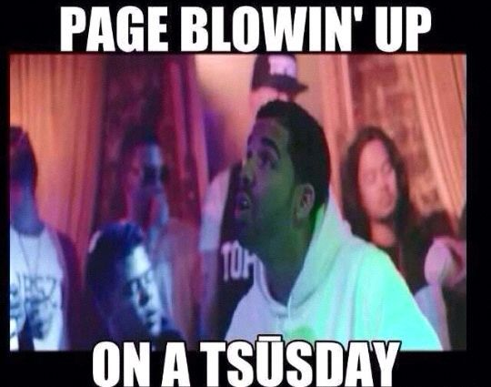 club blowin up on a tsusday