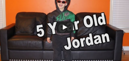 5 Year Old Jordan Writes A Hip Hop Song In 30 Seconds