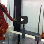 ABB Robots Katana Fight – Samurai Sword Robot Battle