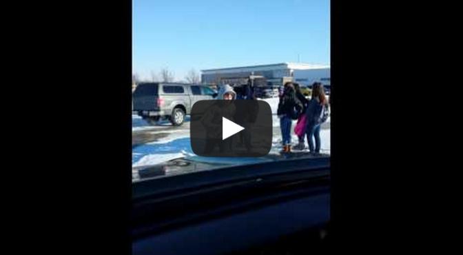 Alan Andersen - Kids slipping on the ice at school