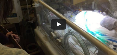 Blackbird with Lennon – Father sings to dying baby son after his wife dies