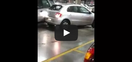 City Mall Parking Space Rage – Road Rage VIDEO