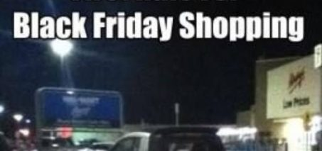 First rule for Black Friday shopping.. There are no rules