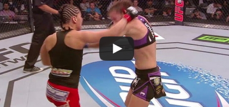 Jessica Eye Wins After Leslie Smith's Ear Nearly Falls Off