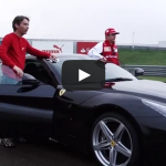 Kimi and the F12berlinetta – Ferrari on the track video