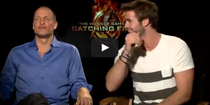Liam Hemsworth, Woody Harrelson Hunger Games Interview