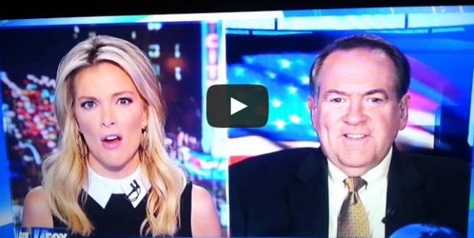 Megyn Kelly Calls Huckabee F*ckabee - News Blooper