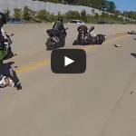 Motorcycle ACCIDENT Street Bike Stunts CRASH At ROC 2014 Ride Of The Century Stuntbike FAIL