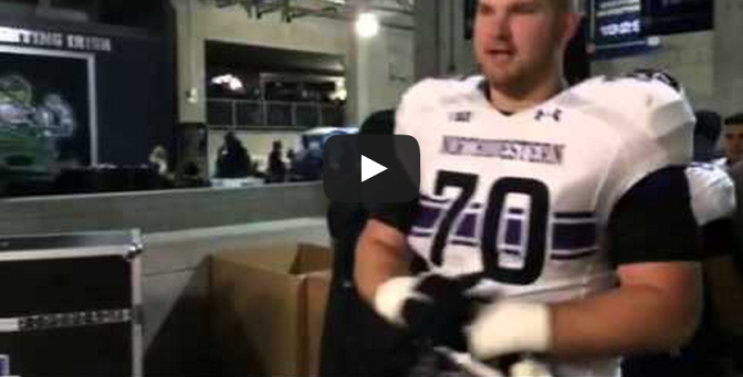 Northwestern Wildcats apparently dig Chick-fil-A