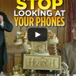 Stop Looking At Your Phones ('The Britishes') – College Humor