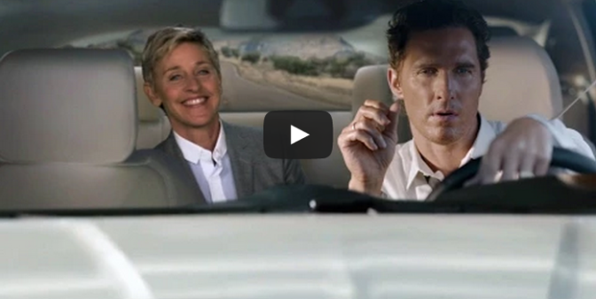 The Ellen Show: Matthew McConaughey's Lincoln Commercial