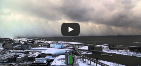 Time-Lapse of Buffalo Lake Effect Snow – Nov 18 2014