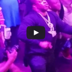 Busta Rhymes Falls Off Stage During Performance!!