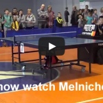 Violence in Table Tennis – Kid pushes the ref!