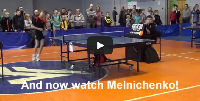 Violence in Table Tennis - Kid pushes the ref!