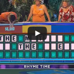 Wheel of stupid: Man guesses same letter as lady before him