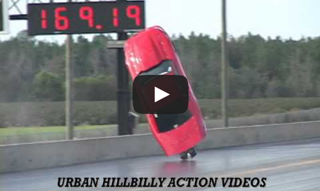 3000 HP TWIN TURBO MUSTANG GOES AIR BORN