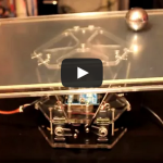 Ball and Plate PID control with 6 DOF Stewart platform