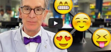 Bill Nye Explains Evolution with Emoji