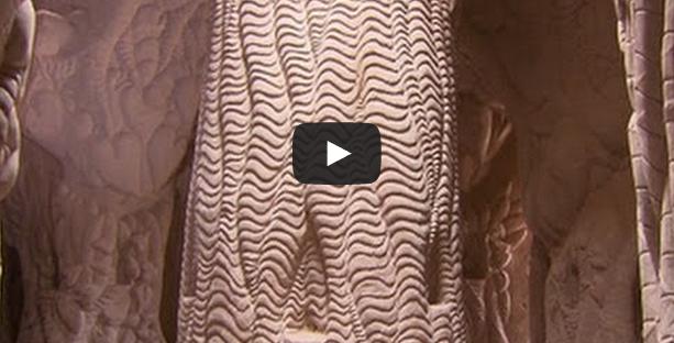Cave-digging artist finds inspiration underground