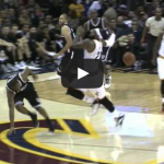 Dion Waiters Hits LeBron in the Face with a Pass
