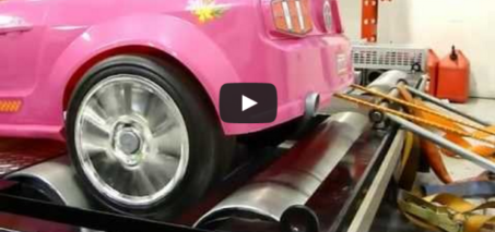 Dynoing Barbie Power Wheels