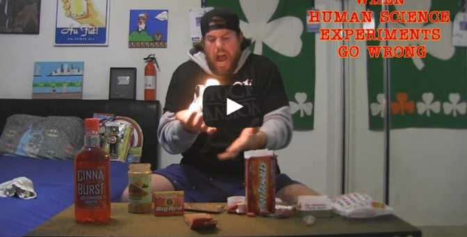 Experiment with Cinnamon and Fire Goes Terribly Wrong